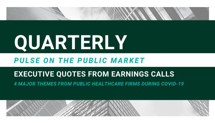 pulse on the market banner Header